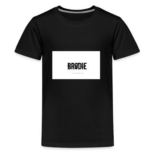 tattoo design name brodie 06 - Kids' Premium T-Shirt