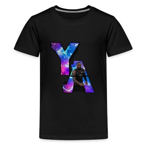The Y/A Logo - Kids' Premium T-Shirt