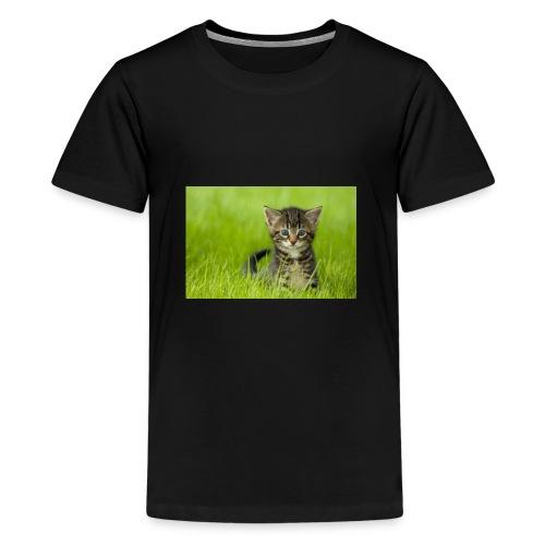 chat - T-shirt premium pour ados