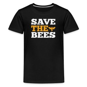 Save the Bees - Kids' Premium T-Shirt