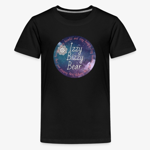 Izzy bizzy bear merch! - Kids' Premium T-Shirt