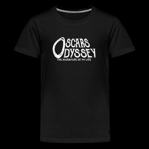 Oscars Odyssey Shirt White Logo - Kids' Premium T-Shirt