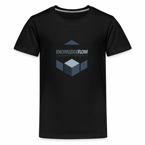 KnowledgeFlow Cybersafety Foundation - Kids' Premium T-Shirt