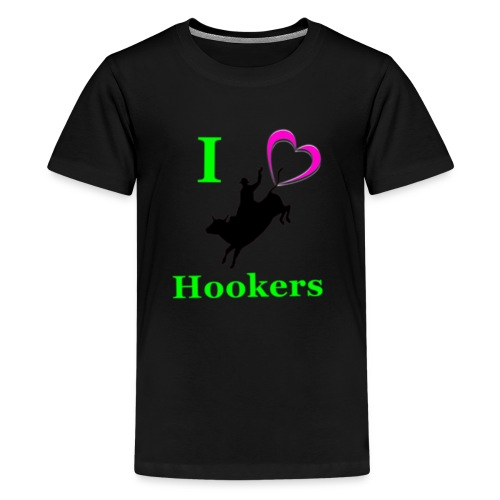 I_Love_Hookers2 - Kids' Premium T-Shirt