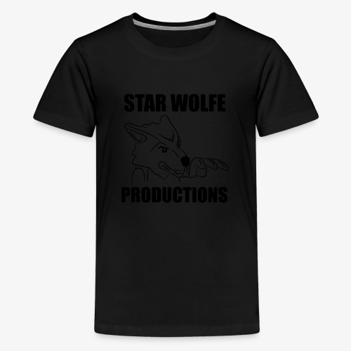 Star Wolfe Productions (Black) - Kids' Premium T-Shirt