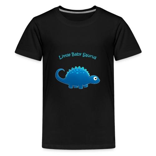 Blue Little Baby Saurus - Kids' Premium T-Shirt