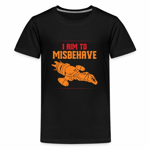 Mission to Misbehave Firefly Spaceship Amazing - Kids' Premium T-Shirt