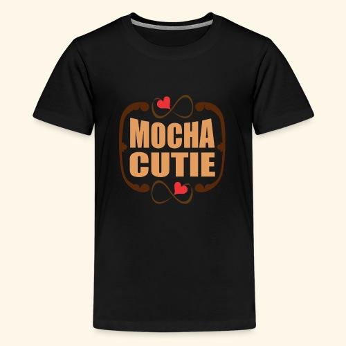 MOCHA CUTIE! - Kids' Premium T-Shirt