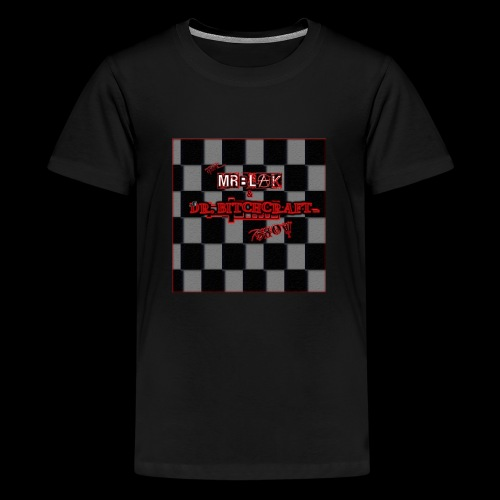 Mr blak & Dr Bitchcraft shirt - Kids' Premium T-Shirt