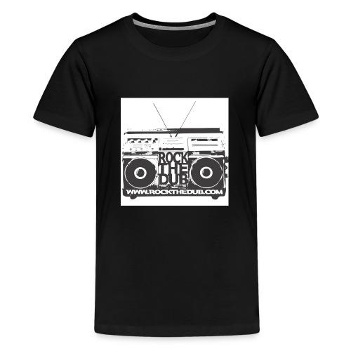 rockthedub.com logo - Kids' Premium T-Shirt