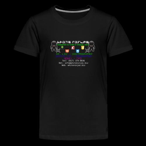White Ninjas - Kids' Premium T-Shirt