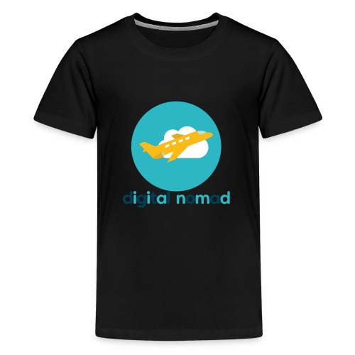 Digital nomad - Kids' Premium T-Shirt