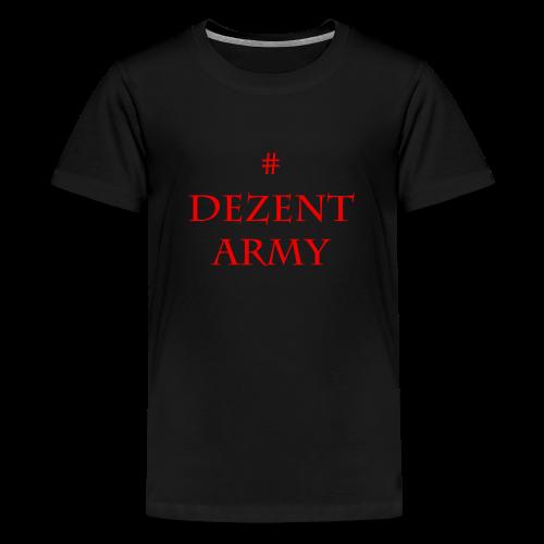 DEZENT-ARMY-ROT - Kids' Premium T-Shirt