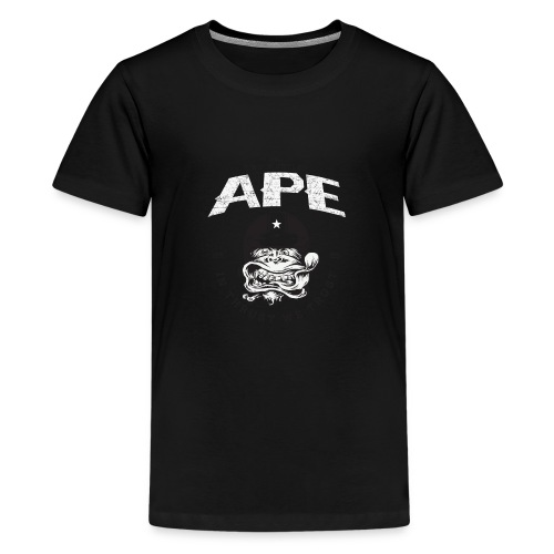 The_Two_Wheeled_Ape_Full_Throttle - Kids' Premium T-Shirt