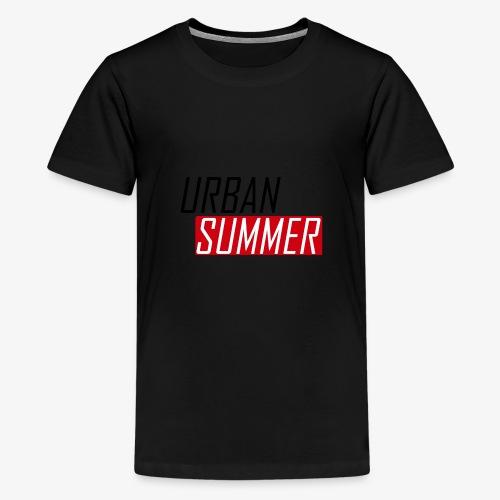 Urban Summer Logo - Kids' Premium T-Shirt