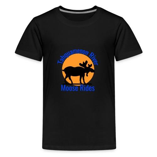 Moose Rides - Kids' Premium T-Shirt