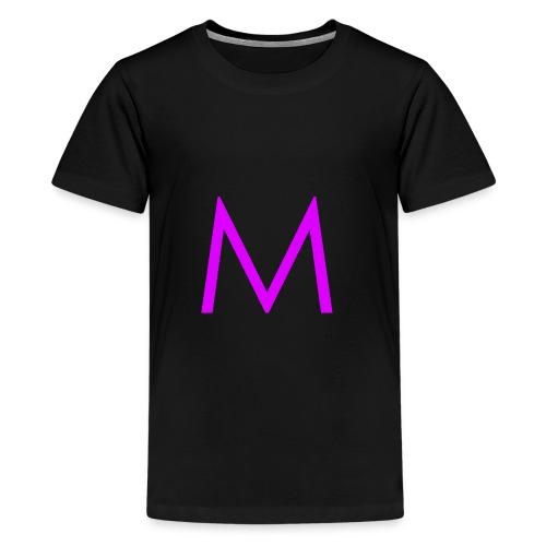 Single purple 'm' - Kids' Premium T-Shirt