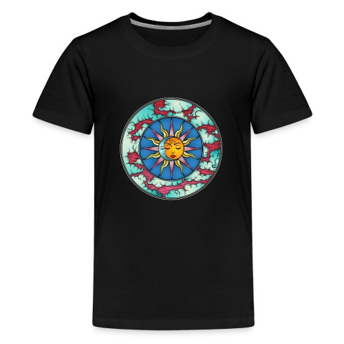 Moon Sun - Kids' Premium T-Shirt