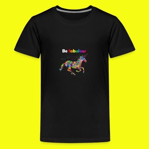 Fabulous unicorn perfect gift idea - Kids' Premium T-Shirt