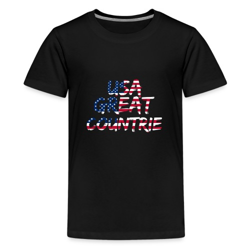 USA IS THE BEST - Kids' Premium T-Shirt