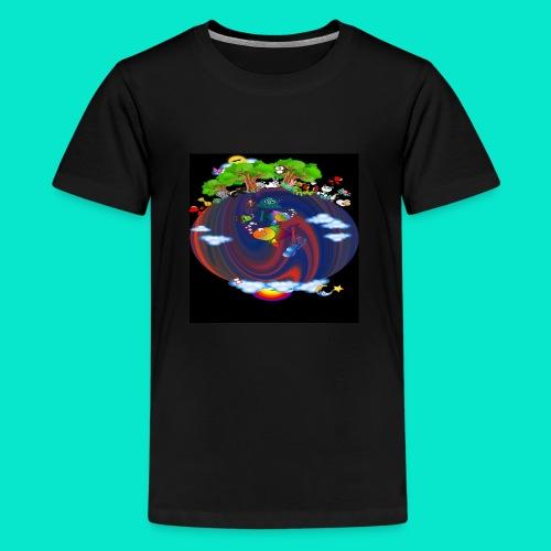 Wonderful World - Kids' Premium T-Shirt