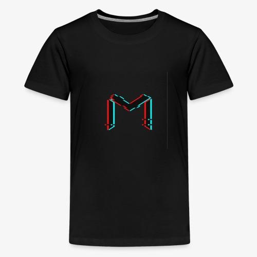 mavro logo glitch - Kids' Premium T-Shirt