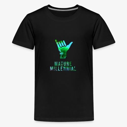 Mature Millennial Minimal Statement Shirt Abstract - Kids' Premium T-Shirt