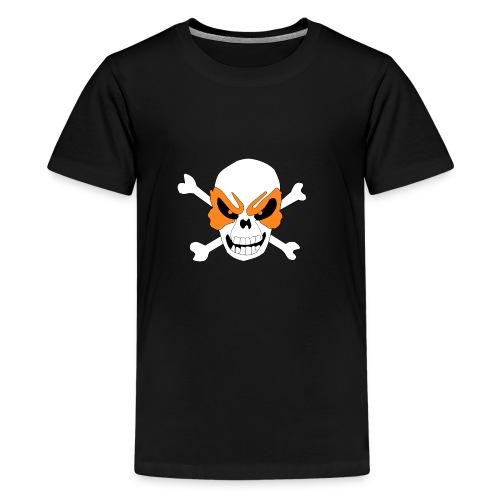 Fiery Skull - Kids' Premium T-Shirt