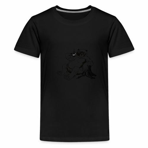 Fort Rock Roasters Coffee Bear - Kids' Premium T-Shirt