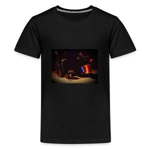 self taken picture - Kids' Premium T-Shirt