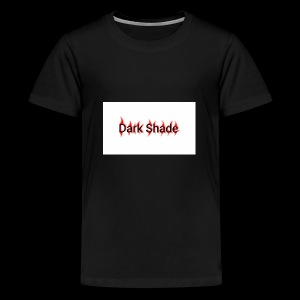 Dark Shade White - Kids' Premium T-Shirt