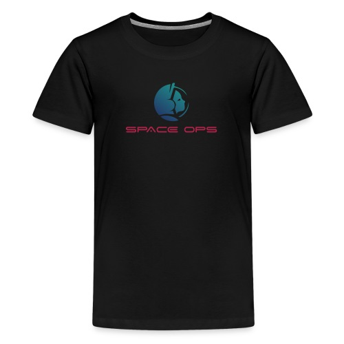 Space Ops Logo - Kids' Premium T-Shirt