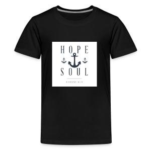 Hebrews 6:19 - Kids' Premium T-Shirt