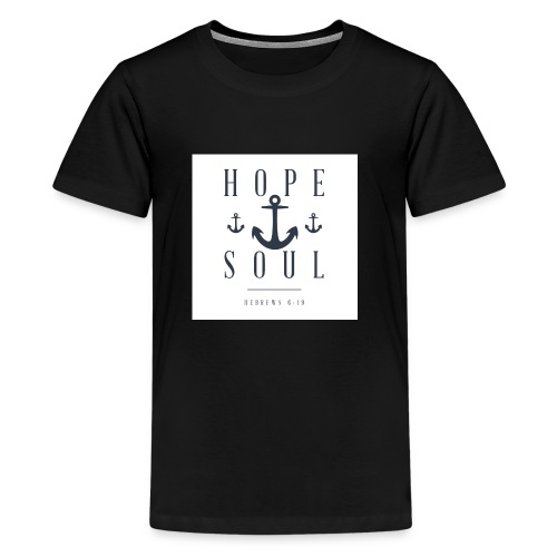 Hebrews 6:19 - Kids' Premium T-Shirt
