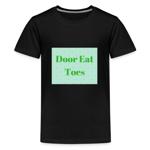 Door Eat Toes - Kids' Premium T-Shirt