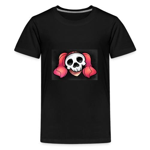SkullyGirlQueen - Kids' Premium T-Shirt