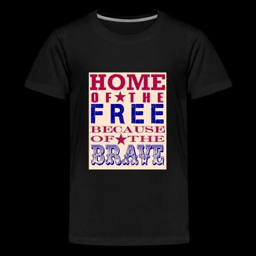 4th of July saying - Kids' Premium T-Shirt