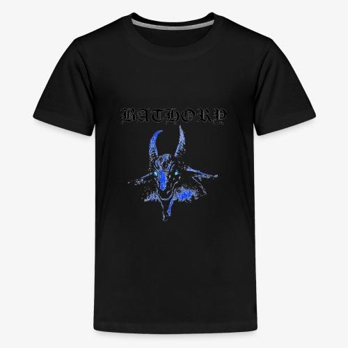 Bathory Classic Goat Logo T-Shirt - Official Merch - Kids' Premium T-Shirt