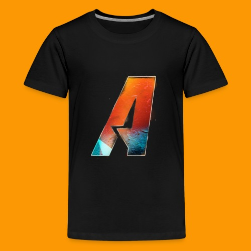 Acombative Multi colored logo - Kids' Premium T-Shirt