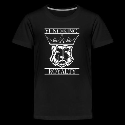 YK CREST WHITE - Kids' Premium T-Shirt