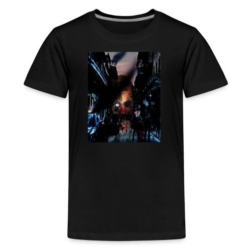 zombie horror, halloween horror nights t-shirt - Kids' Premium T-Shirt