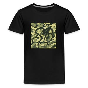 Camo SD Logo - Kids' Premium T-Shirt