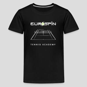 EuroSpin Tennis Design Eurospin Logo - Kids' Premium T-Shirt