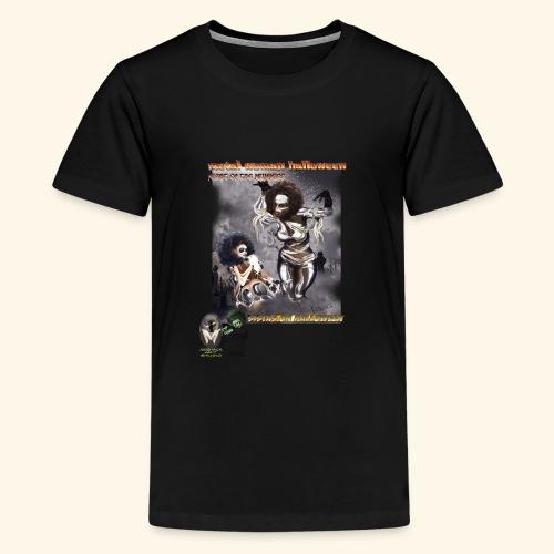 MUMMY SISTAS ON HALLOWEEN - Kids' Premium T-Shirt