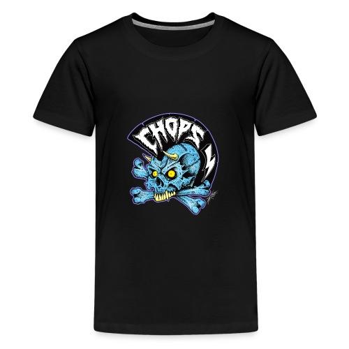 punk skull - Kids' Premium T-Shirt