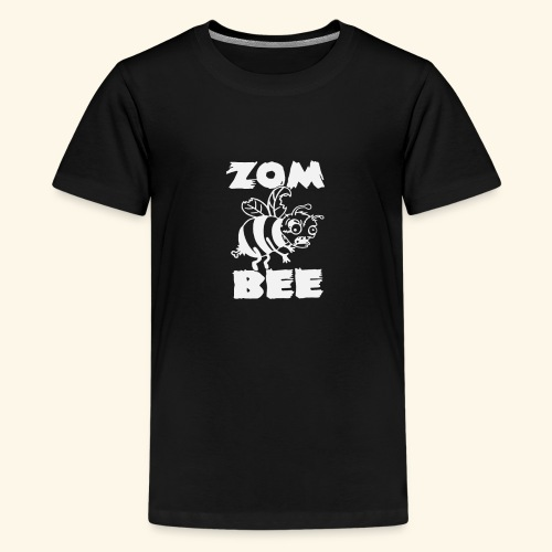 Zombie Honey Bee Humour Funny - Kids' Premium T-Shirt