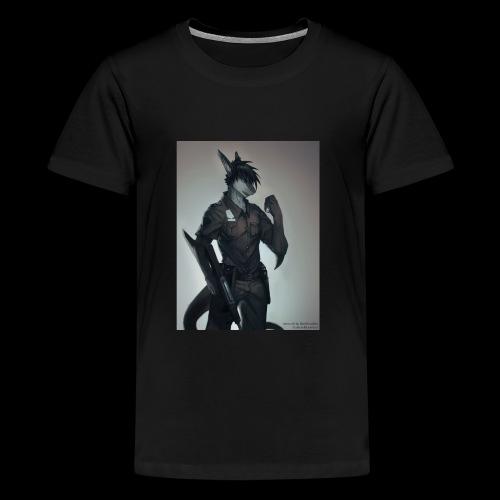 riptideshark officer riptide requesting backup - Kids' Premium T-Shirt