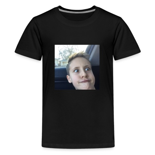 100 subs face - Kids' Premium T-Shirt