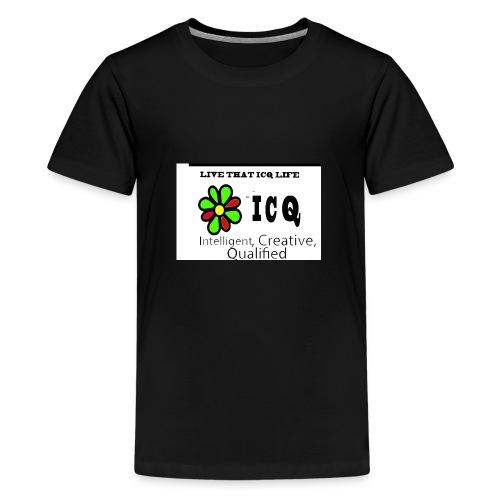 bunk new ICQ edited 33 - Kids' Premium T-Shirt