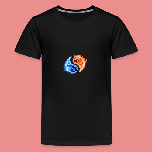 fire and ice - Kids' Premium T-Shirt
